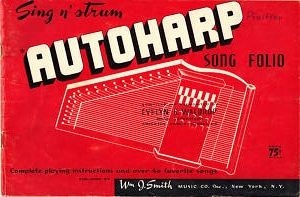 Autoharp Song Book!