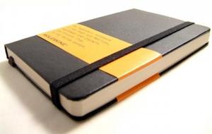 Find a Moleskine Notebook of your very own!