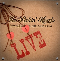 Click to listen to the Pea Pickin' Hearts LIVE CD on ReverbNation!