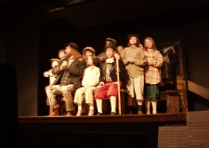 "Jon as Fagin in the Musical ""Oliver"" at the Pine Tree Playhouse!"