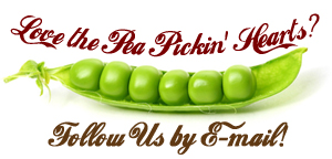 Follow the Pea Pickin' Hearts by Email