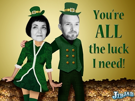 Happy St. Patricks Day from the Pea Pickin' Hearts!