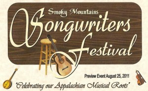 Click to email Cyndy Reeves, one of the Smoky Mountain Songwriters Festival organizers!