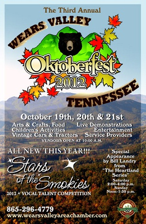 Come see the Pea Pickin' hearts at the Wears Valley Oktoberfest!