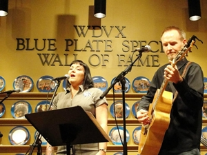 The Pea Pickin hearts on WDVX Blue Plate Special!