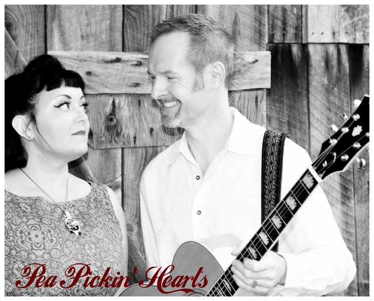 Pea Pickin' Hearts, photo by John Saunders at The Barn at Chestnut Springs
