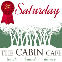 Come see the Pea Pickin' Hearts at The Cabin Cafe on Second Saturday!