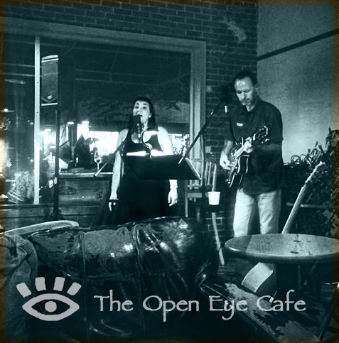 Pea Pickin' Hearts at Open Eye Cafe in Carrbro, NC!