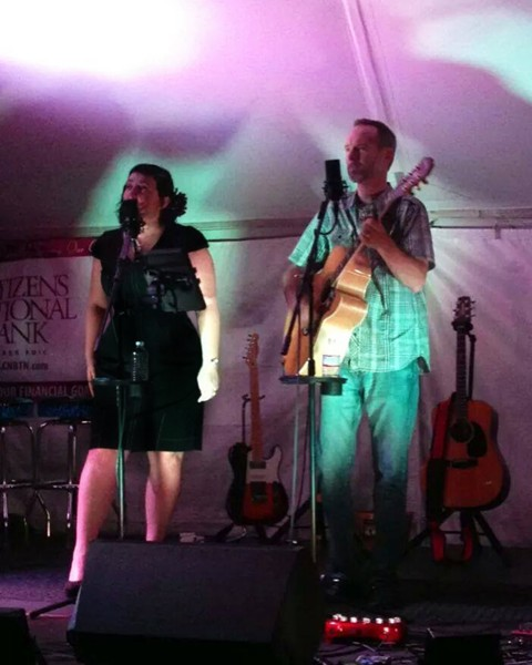 Pea Pickin' Hearts at Sevier County Fair by Dave Maggard at Sound Biscuit Productions
