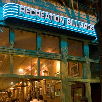 Hear the Pea Pickin' Hearts at Recreation Billiards!