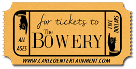 Click for tickets to hear the Pea Pickin' Hearts & Crab Apple Lane at The Bowery!