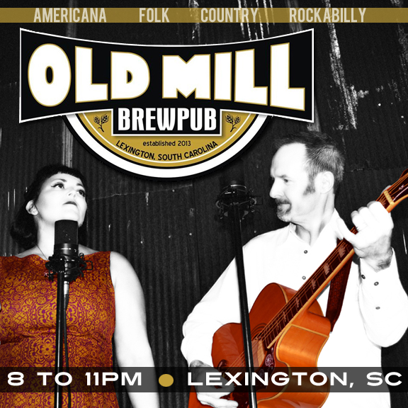 See the Pea Pickin' Hearts at Old Mill Brewpub in Lexington, SC!