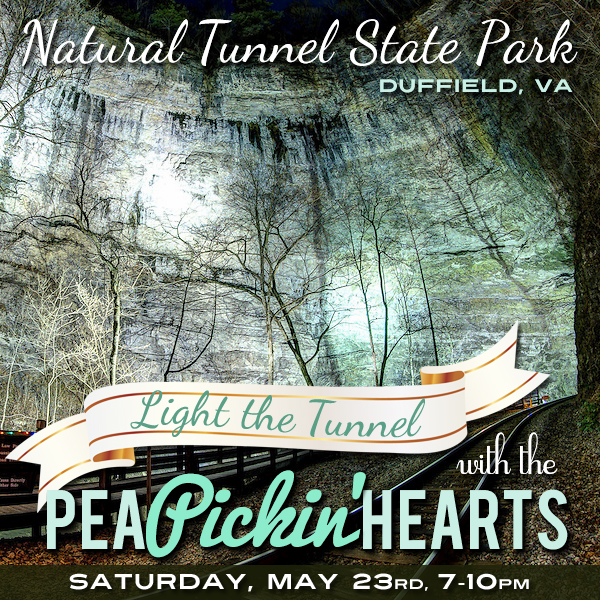 Join the Pea Pickin' Hearts at Natural Tunnel State Park in Duffield, VA!