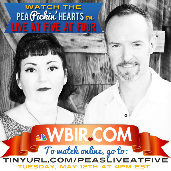 Pea Pickin' Hearts on Live at Five at Four on Knoxville's NBC-affiliated WBIR!