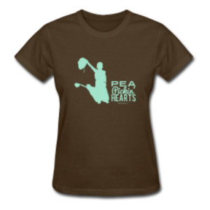 Pre-Order a t-shirt from the Pea Pickin' Hearts!
