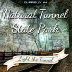 See the Pea Pickin' Hearts at the Tunnel Lighting at Natural Tunnel State Park!
