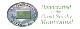Thanks to Pea Pickin' Hearts sponsor--Misty Mountain Soap Company!