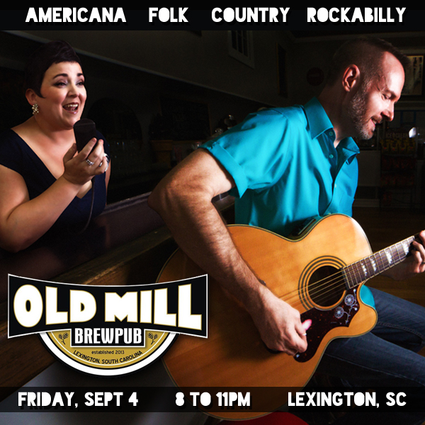 Hear the Pea Pickin' Hearts at Old Mill Brewpub in Lexington, SC!