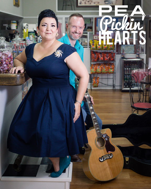 The Pea Pickin' Hearts at The Meeting Place Ice Cream Shoppe by Ashley Lodge Photography!