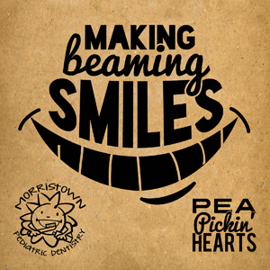 """Making Beaming Smiles"" a children's CD by the Pea Pickin' Hearts, sponsored by Morristown Pediatric Dentistry!"