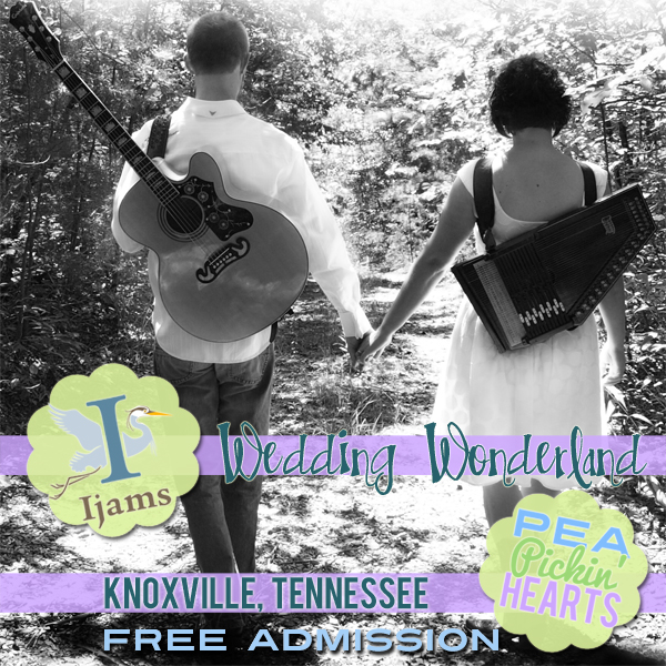 Hear the Pea Pickin' Hearts LIVE at Ijams' Wedding Wonderland!