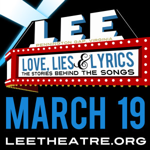 Hear the Pea Pickin' Hearts as a part of Love, Lies & Lyrics at the Lee Theatre in Pennington Gap, Virginia!