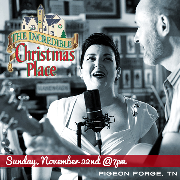 Hear the Pea Pickin' Hearts LIVE at The Incredible Christmas Place!