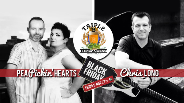 Hear the Pea Pickin' Hearts at Triple B Brewery in Kingsport, TN!