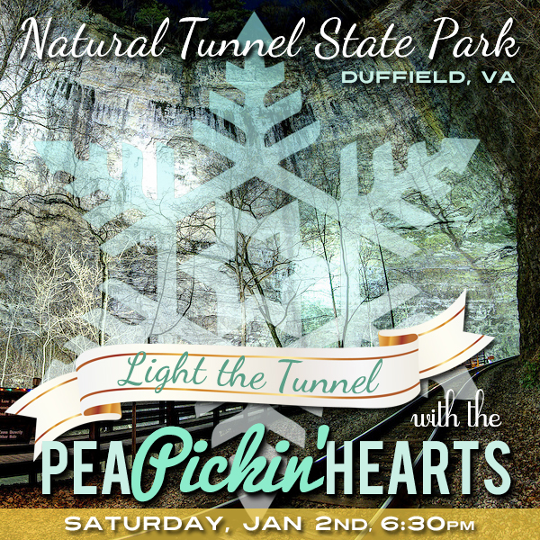 Hear the Pea Pickin' Hearts at Natural Tunnel State Park in Duffield, VA!
