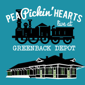 Hear the Pea Pickin' Hearts on the Steamtrunk Stage at Greenback Depot -- The Center of Town in Greenback, TN!