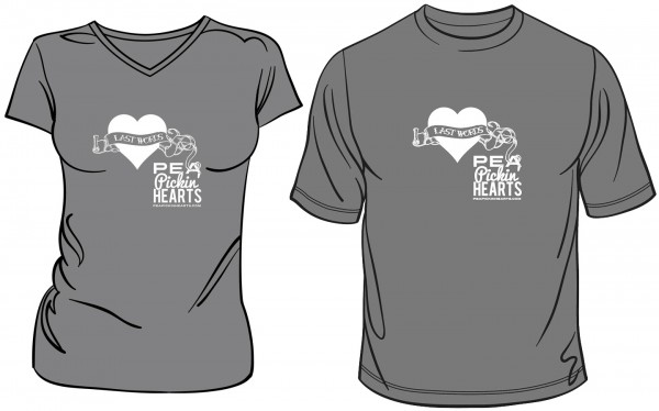 New Pea Pickin' Hearts t-shirts available soon!