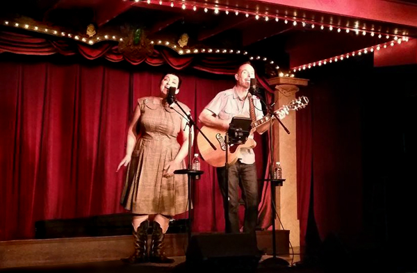 The Pea Pickin' Hearts at the Sweet Fanny Adams Theatre in Gatlinburg, TN!