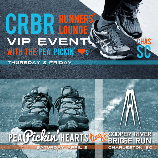 Hear the Pea Pickin' Hearts in Charleston at the Cooper River Bridge Run!