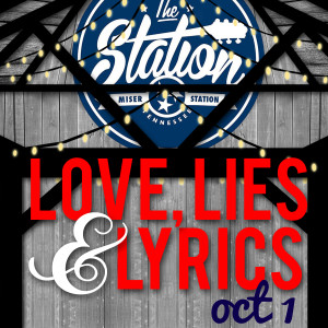 "Hear the Pea Pickin' Hearts as a part of ""Love, Lies & Lyrics"" tour at The Station in Lousiville, TN!"