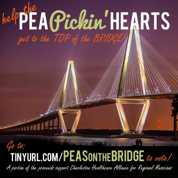 Get the Pea Pickin' Hearts to the Top of the Cooper River Bridge!