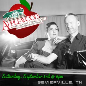 Hear the Pea Pickin' Hearts at Applewood Farmhouse on Saturday, September 3rd in Seviervile, TN!
