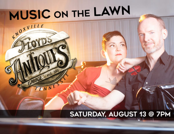 Hear the Pea Pickin' Hearts at Floyd's Garage Antiques on Saturday, August 13th in Knoxville, TN!