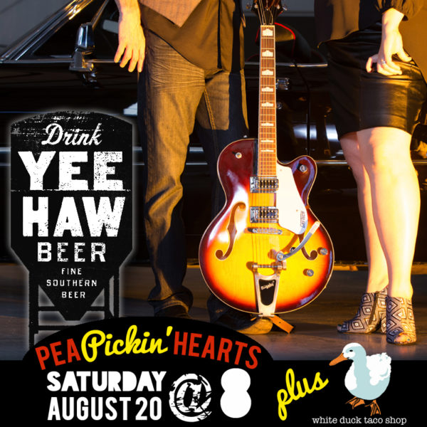 Hear the Pea Pickin' Hearts at Yee-Haw Brewing Company in Johnson City, TN!