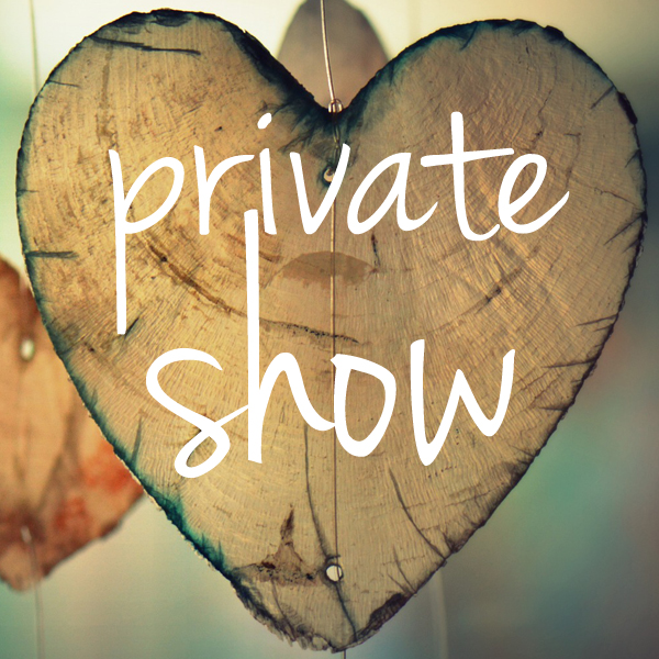 Have your own Private Show with the Pea Pickin' Hearts!