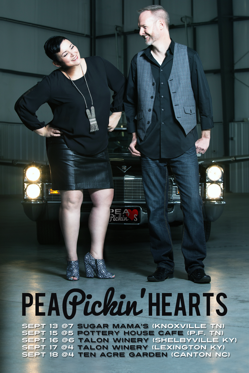 Hear the Pea Pickin' Hearts THIS WEEKEND!